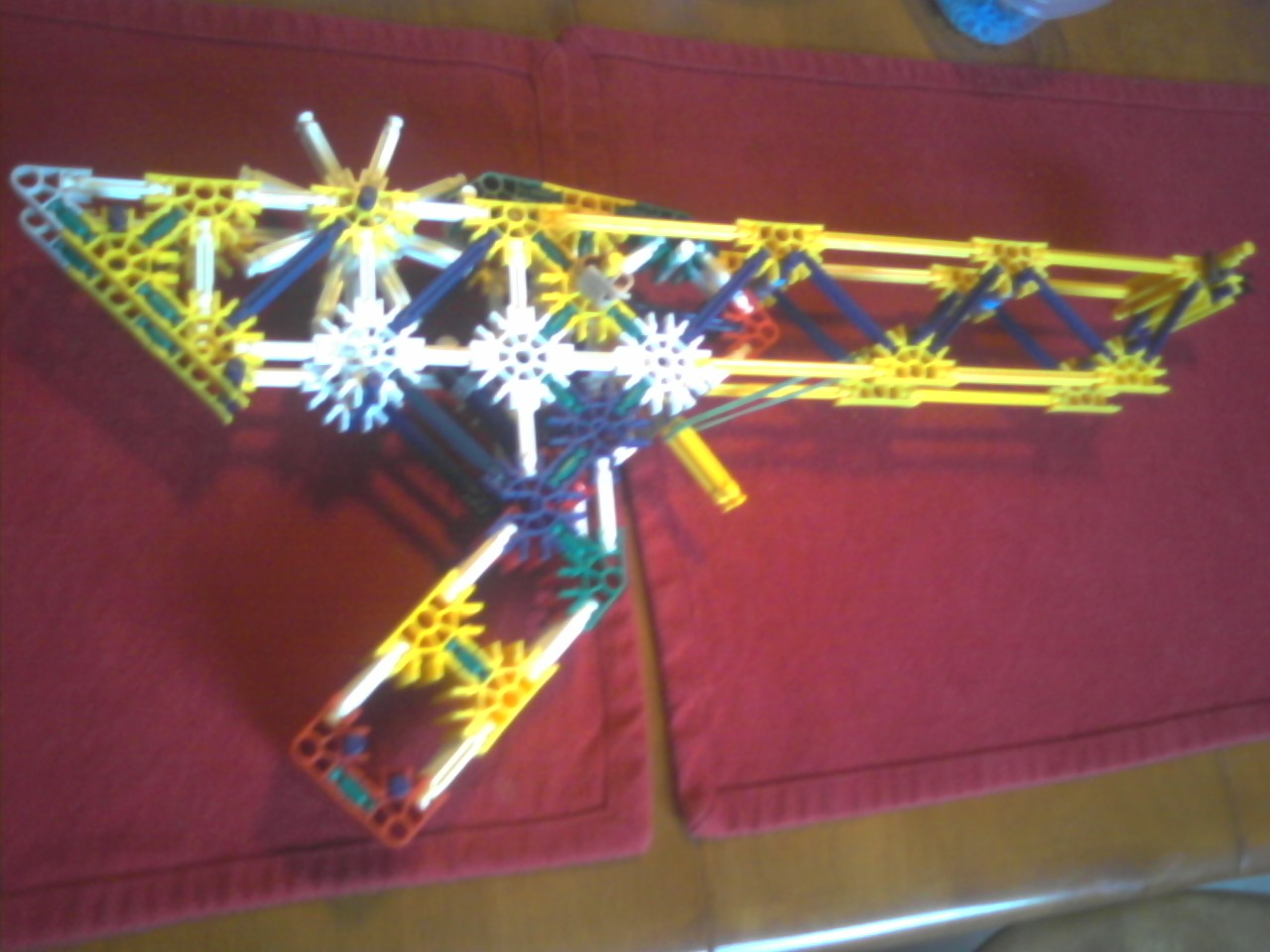 "Picture of ""The Teazer"" Knex Semi-Automatic Rubber Band Gun (RBG)"