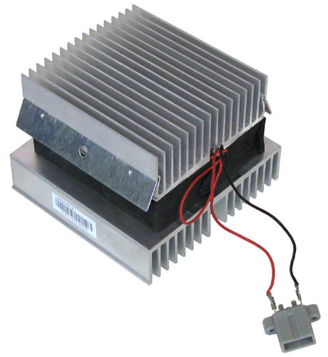 Picture of Peltier thermoelectric heat pump, can it be used as Solar Generator?.
