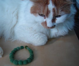 Felted Pet Hair Beads
