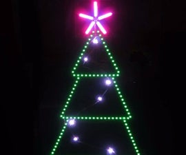 LED Animated Christmas Tree 2015