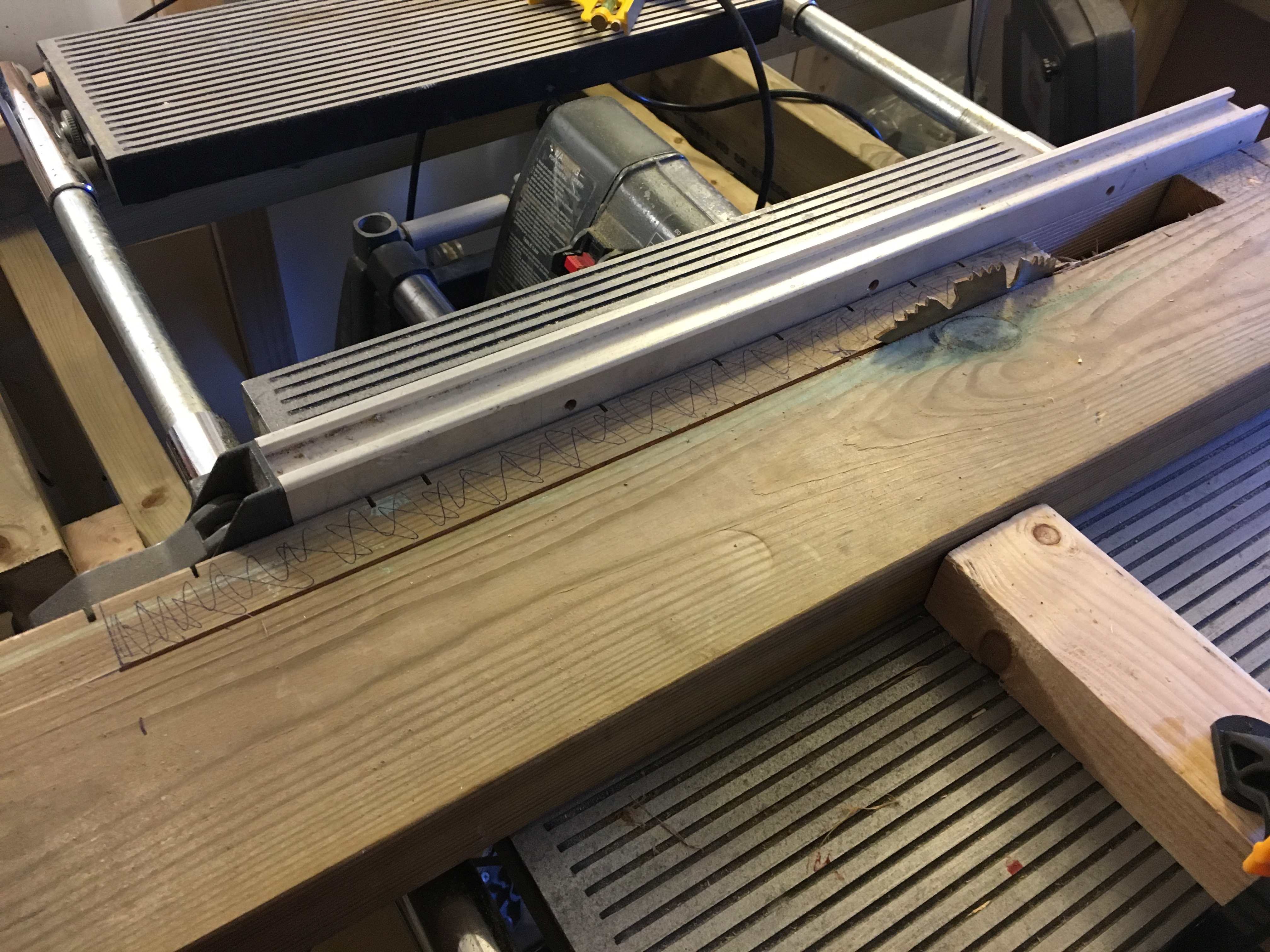 Picture of Chop Saw Provision - Frame