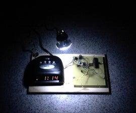 LED Sunrise Alarm Clock with Customizable Song Alarm
