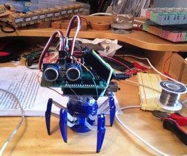 Hex Bug Spider With a Brain (autonomous Robot)