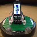 Laser Cut Lego Base for Roomba Robots!