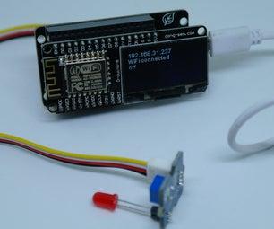 Control Grove LED by Web(D-duino-B)