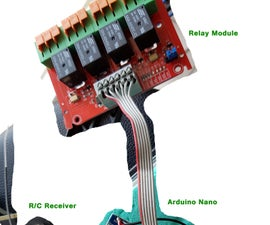 Radio-Controlled (R/C) relay driver