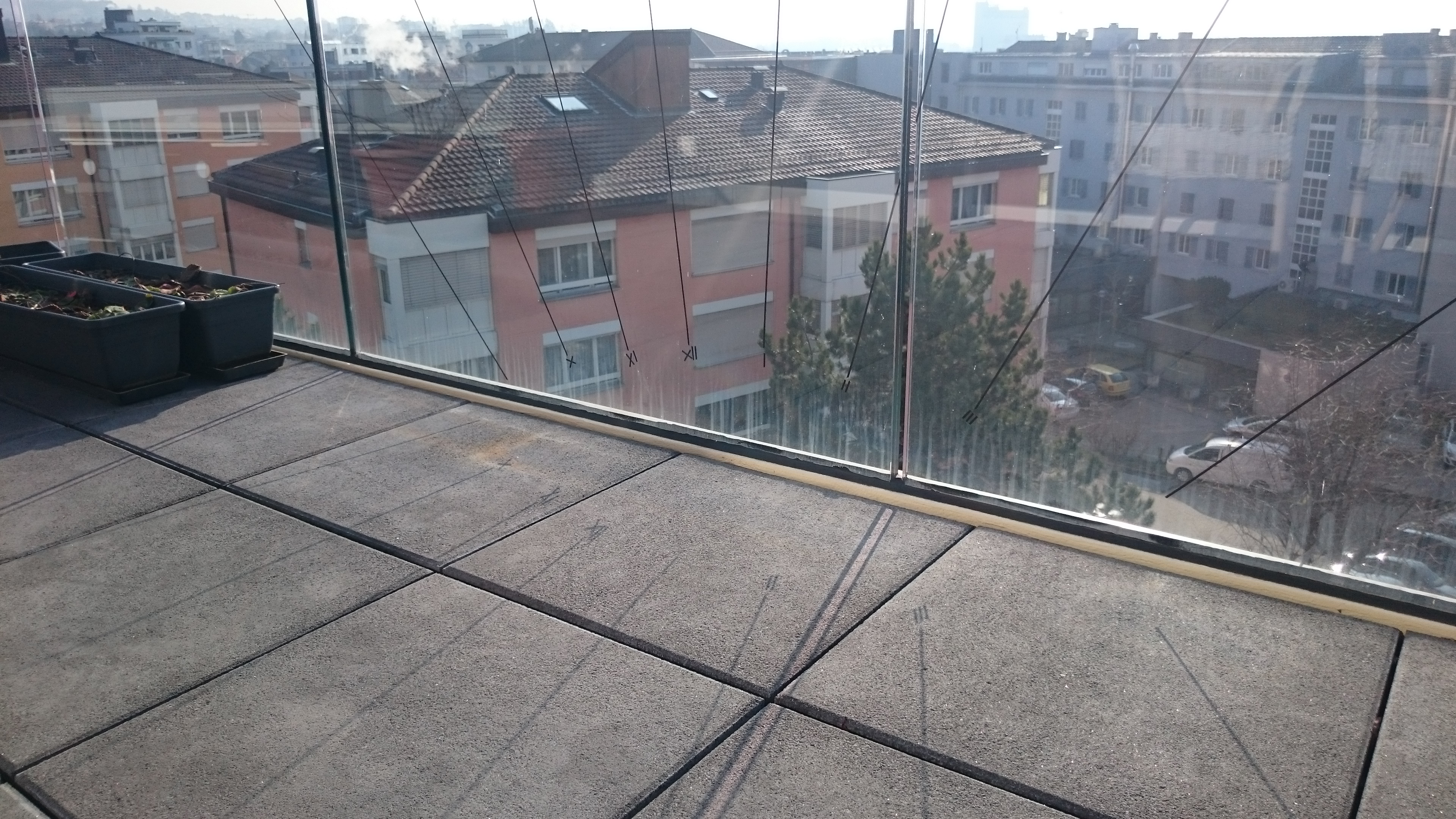 Picture of Inverted Sundial on My Balcony