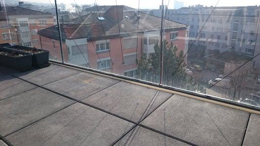 Inverted Sundial on My Balcony