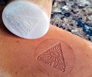 Laser Cut Leather Stamp