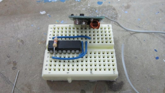 Building the Remote: Soldering the Input Sensors and Building the Breadboard