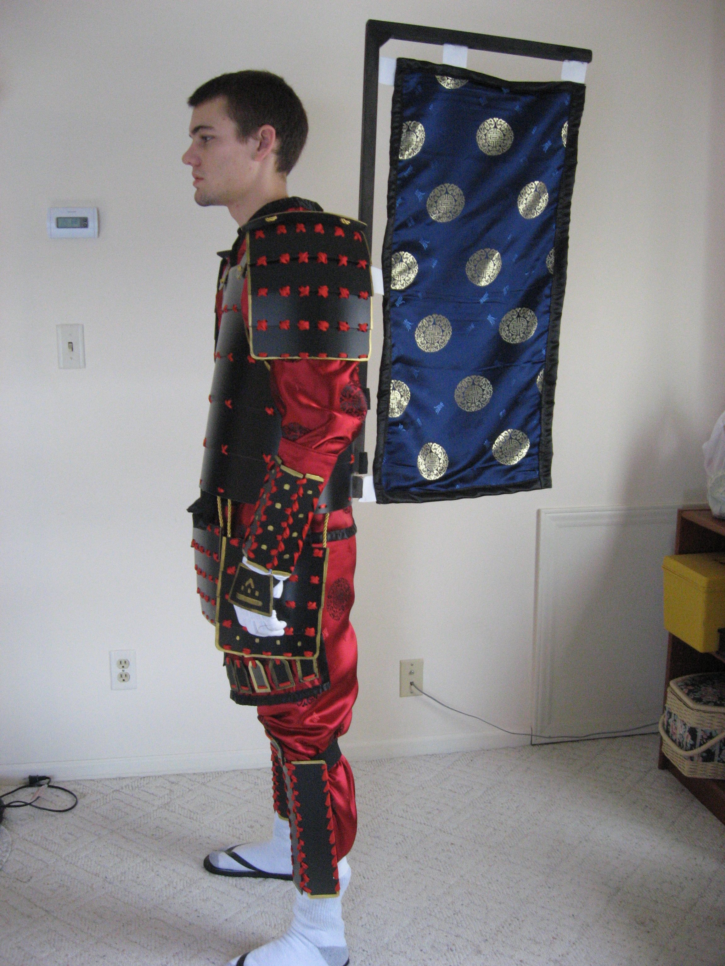 Picture of Do, Sode and Kusazuri (Cuirass, Shoulder/Pauldron and Upper Thigh)