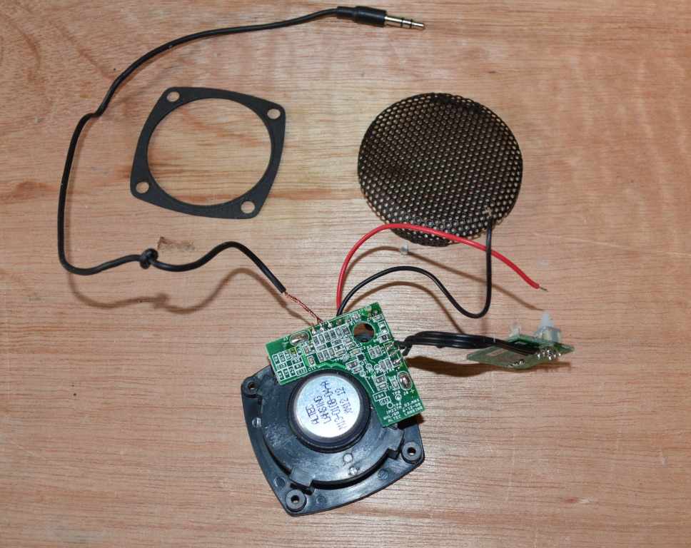 Picture of Adding the Speaker - Part 1