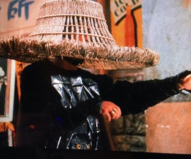 Big Trouble in Little China Straw Hat