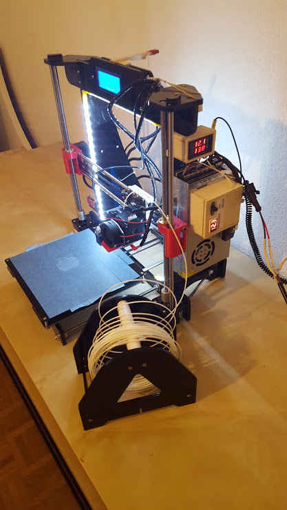 Picture of DIY 3d Printer for Beginners