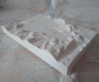 3D Print a Custom Raised-relief Map