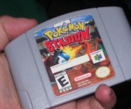 Nintendo64 Game Pak Stash Box