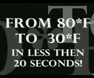 Ice Cold Beer In 20 Seconds!