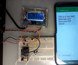 How to Send SMS Text Messages From Your Arduino ESP Project