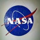 Handmade 3D NASA Light