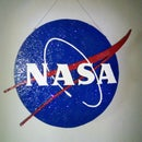 Handmade 3D NASA Light