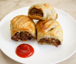 Homemade Sausage Rolls (Freezable Snack)