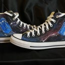 Painted Converse: Doctor Who
