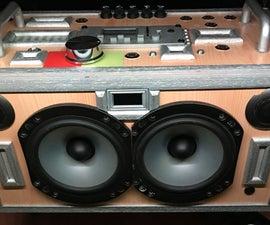 DIY Audio Sound Station