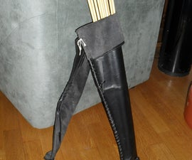 My Leather Arrow Quiver