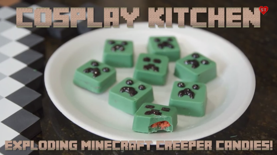 Picture of How to Make Exploding Creeper Candy