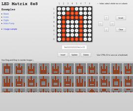LED Matrix Editor