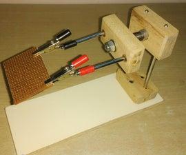 PCB HOLDER FOR EASY SOLDERING