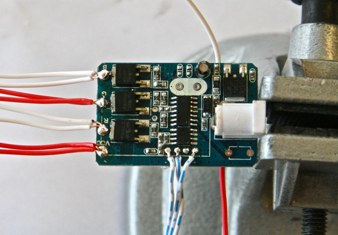 Picture of Wiring the Electronics