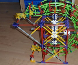 K'nex ballmachine motorized madness circle lift.