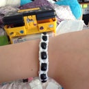 Rainbow Loom: Fish Tail Bracelet WITH Beads