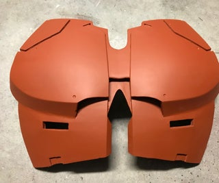 Reinforcing 3d Printed Parts With Fiberglass