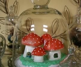 Sweet Sugar Mushrooms with Rooms