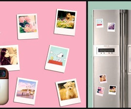 DIY Instagram/Polaroid magnets!! Super simple UNDER 2$