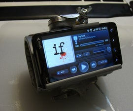 DieselPunk Pipboy 4G Wrist Thingy Phone Mount