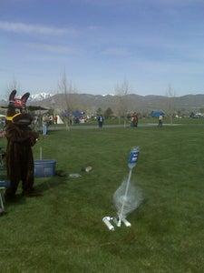 Paper and Soda Bottle Rocket Launcher