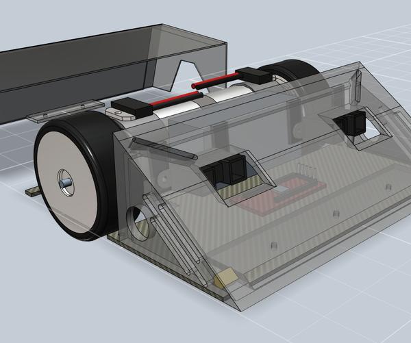 3D Printed Sumobot [Autonomous RC, Bluetooth Multiplayer]