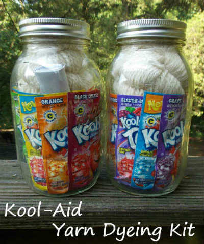 Picture of Kool-Aid Yarn Dyeing Kits - Makes a Great Gift!