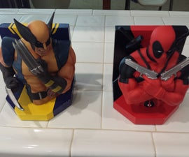 Marvel Book Ends