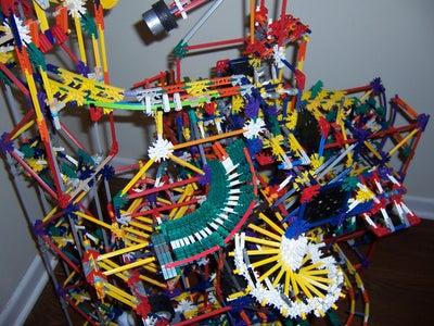 Retrograde-A K'nex Ball Machine