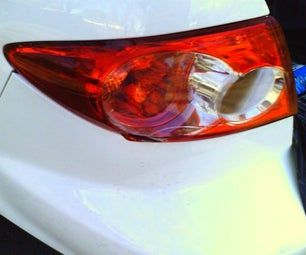 Replacing a Mazda 6 Tail Light (on Car Body)