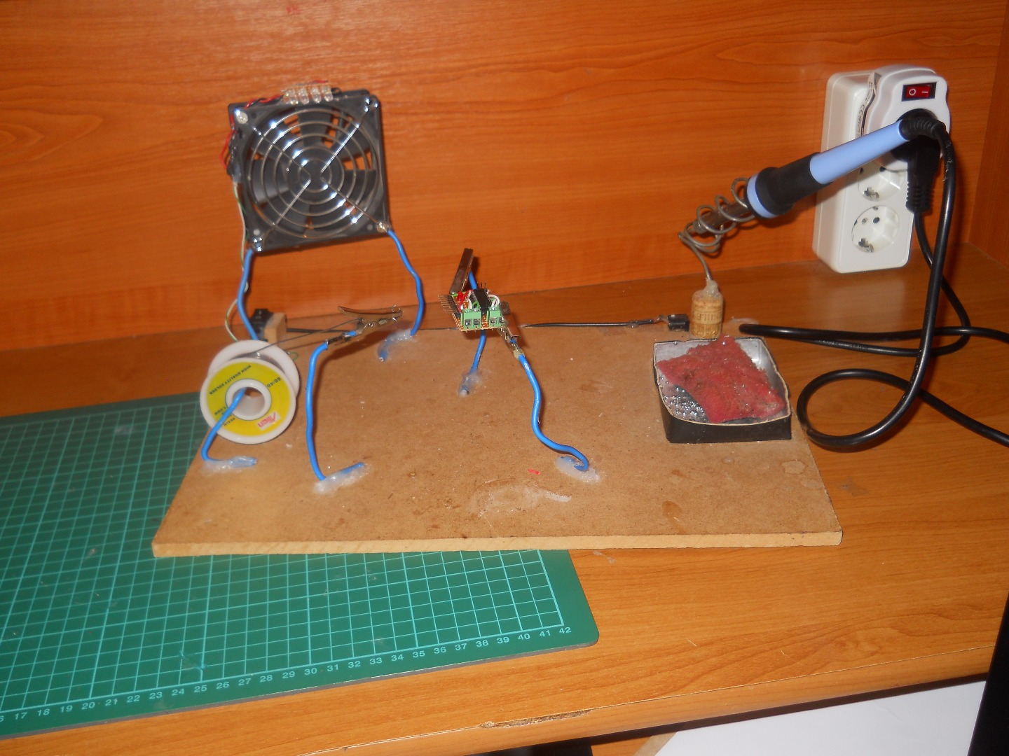 Picture of Homemade Soldering Station