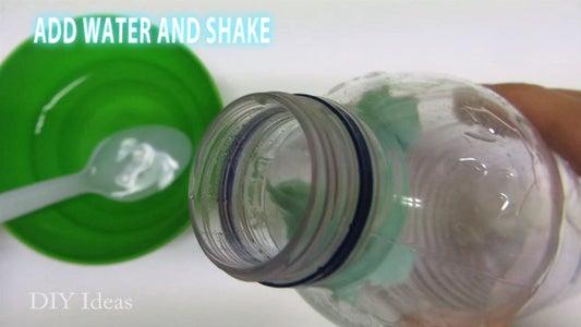 Step 1: Prepare Toothpaste Bottle Solution