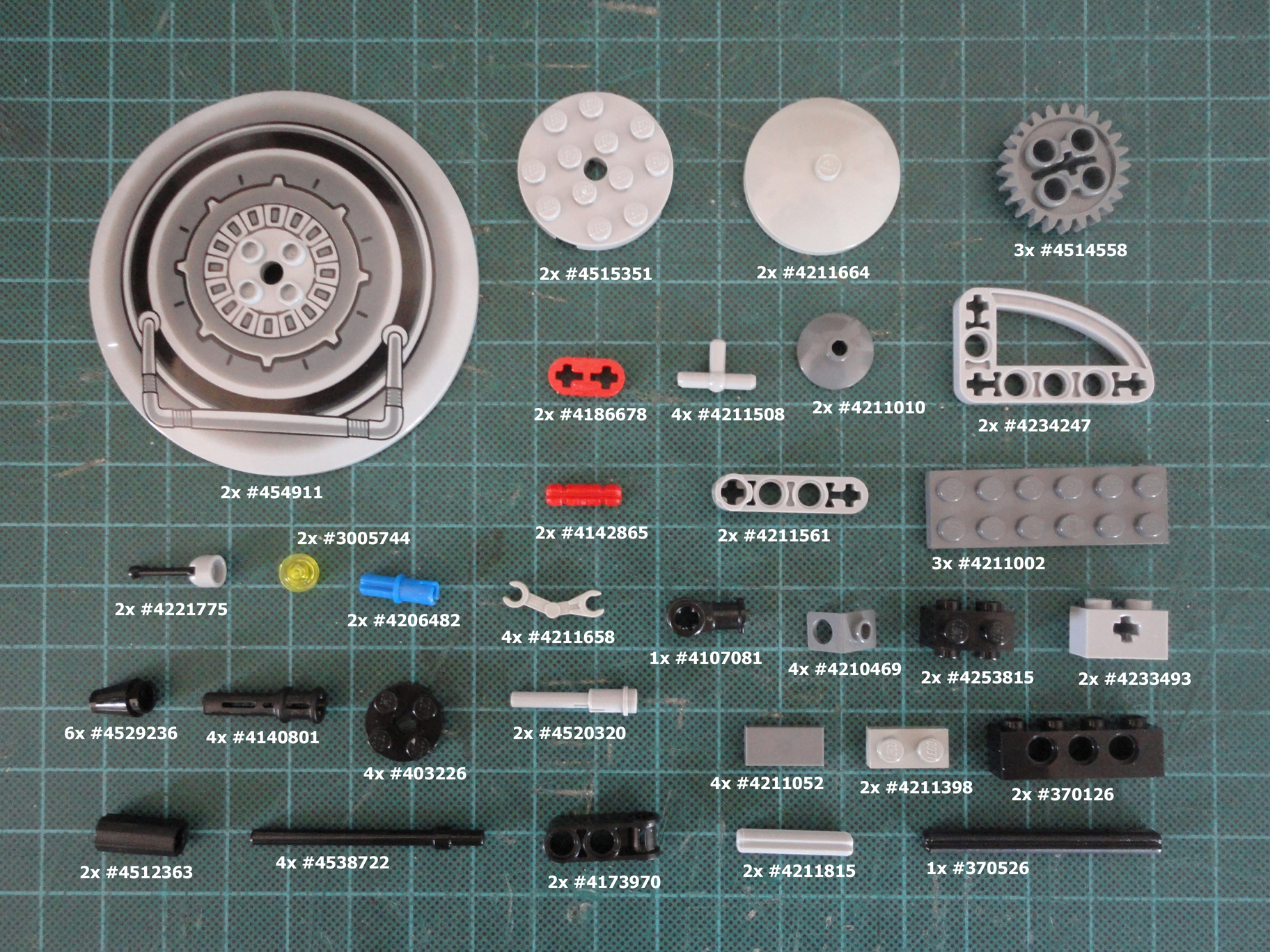 Picture of Parts & Tools
