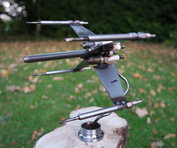 Spark Plug X-wing Fighter