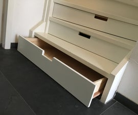 Staircase Drawers !