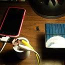 Diy solar phone charger